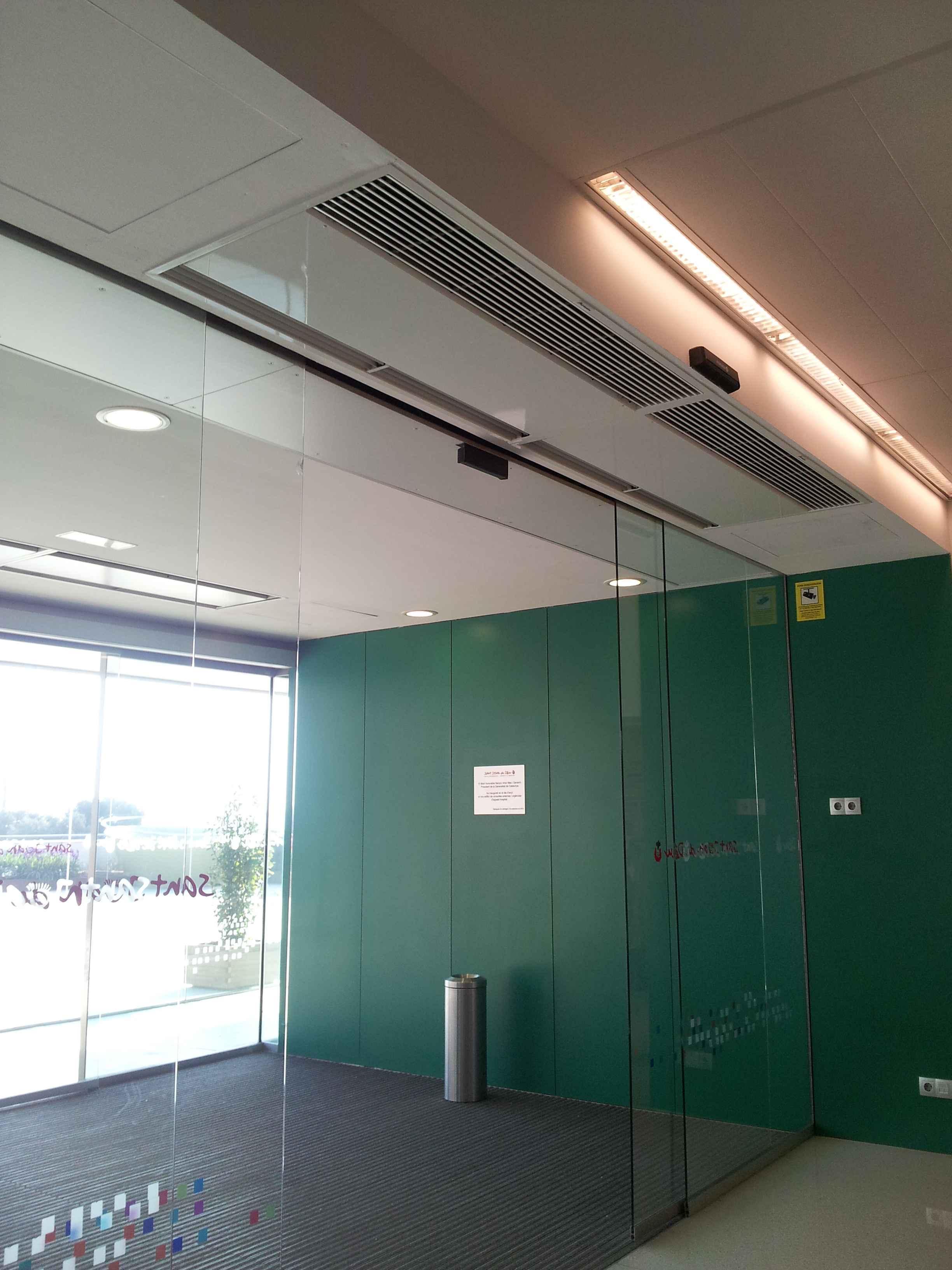 Air Curtain Recessed Windbox